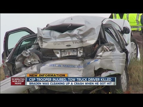 Tow truck driver, CSP trooper ID'd in fatal crash