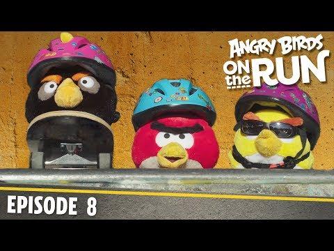 Angry Birds- Na útěku - 8 - Skateboard