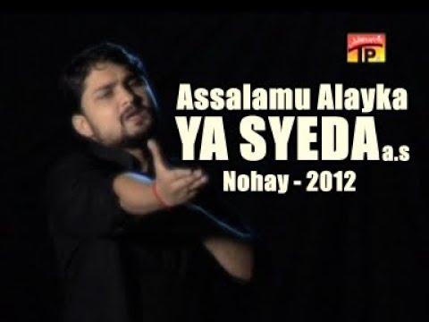 Asalam-o-Alyka Ya Syeda (s.a) Title New Noha SYED RAZA ABBAS ZAIDI Vol=7 2012