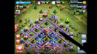 Clash Of Clans Town Hall Level 7 Defense W/ Funnel