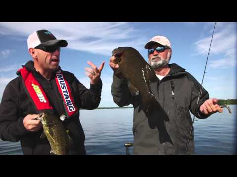 St. Lawrence River Swift Current Smallmouth Bass - Dave Mercer's Facts of Fishing THE SHOW