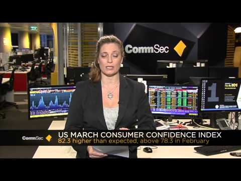26th Mar 2014, CommSec AM Report: US consumer confidence boosts US mkts