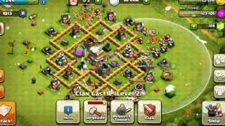 Clash Of Clans: BEST Town Hall Level 6 Defensive Setup
