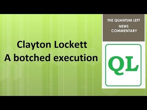Clayton Lockett Execution