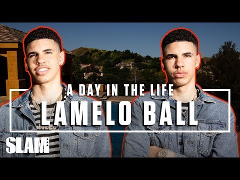 LaMelo Ball Is Paving His Own Wave 🌊 LEAGUE HIM | SLAM Day in the Life