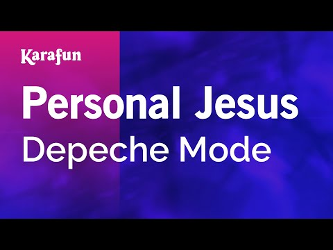 Karaoke Personal Jesus - Depeche Mode *