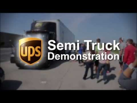 Tire Rack - Street Survival: UPS Truck Demonstration
