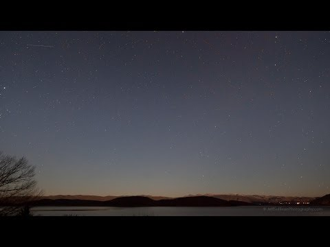 ISON meteor shower hunt, January 12, 13, 14
