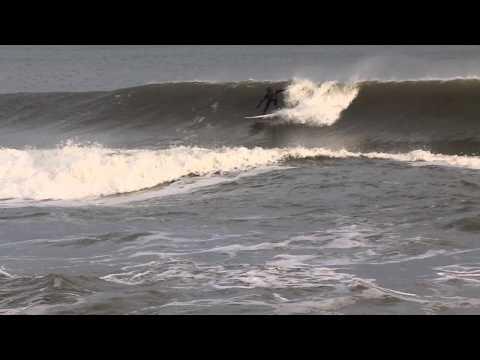 NJ Cold January Surf