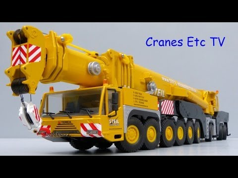 Cranes Etc TV: Conrad Terex AC 1000 Mobile Crane 'Steil' Review