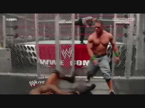 Loquendo - John Cena Vs Randy Orton Hell in a Cell
