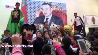 """بالفيديو: شاهد الفنان حاتم إيدار """" ْمحَيحْ """" فـْولاية الأمن   خارج البلاطو"""