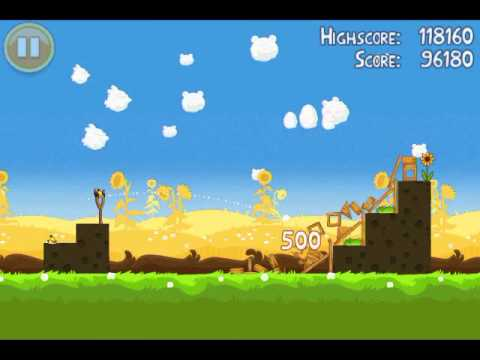 Angry Birds Seasons - Summer Pignic 1-3