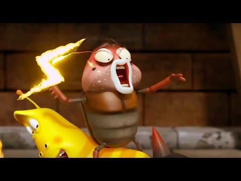 LARVA ❤️ The Best Funny cartoon 2017 HD ► La THUNDER ❤️ The newest compilation 2017 ♪♪ PART 100