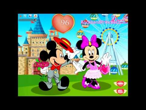 Mickey And Minnie Mouse Online Games Dress Up Game