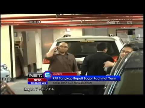 NET12 - Bupati Bogor ditangkap KPK