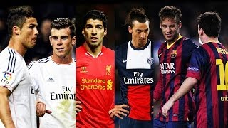 Best Football Skill Show 2014 Ronaldo Messi Neymar Bale