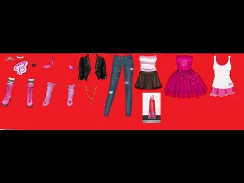 como consegir ropa de barbie y un labial