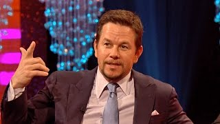 Mark Wahlberg remembers 57 movie characters in 16 seconds! - The Graham Norton Show