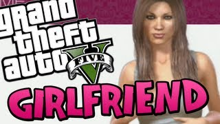 GTA 5 - How to get a GIRLFRIEND (Funny Moments on GTA V) Free Roam Fun Stuff