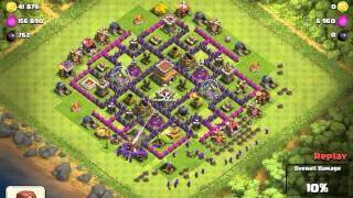 Clash Of Clans Epic Pingfao Town Hall 8 Trophy Base 1800