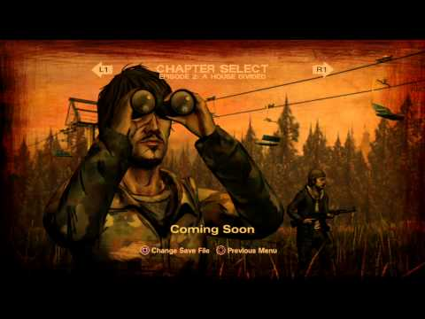 The Walking Dead Game: Season 2 - Ep 2 (A House Divided) Foreshadowing