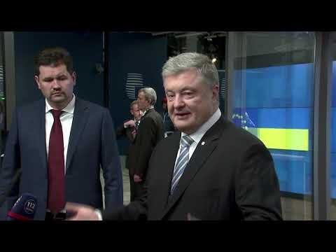 Вечірній вояж Президента до Брюсселя – за десять днів до виборів у столиці ЄС зустріч керівництва усіх європейських політичних інституцій в форматі міні-саміту