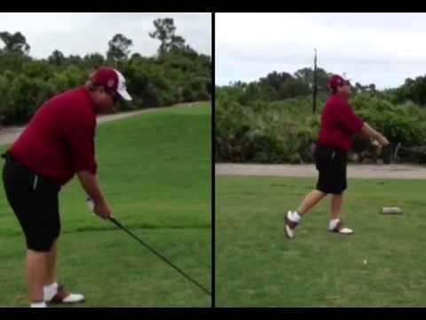 Jim A. Golf swing analysis