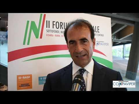 II Forum nazionale Conpaviper, il commento di Roberto Callieri (FEDERBETON)
