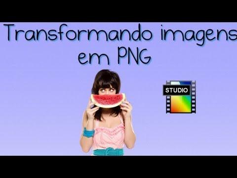 Como tirar o fundo branco de imagens (Transformando em PNG)