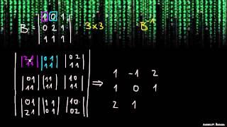 Inverzna matrika 3×3 – primer 1