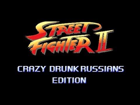 Rusos borrachos edición Street Fighter