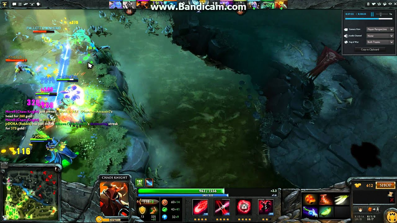 [Dota 2] Chaos Knight Skill Highlights and Combos - YouTube