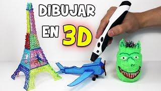 Dibujar en 3D con un Lápiz 3D