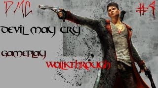 DMC Devil May Cry Gamplay Walkthrough with Commentary Part 4 - Welcome to Dream World