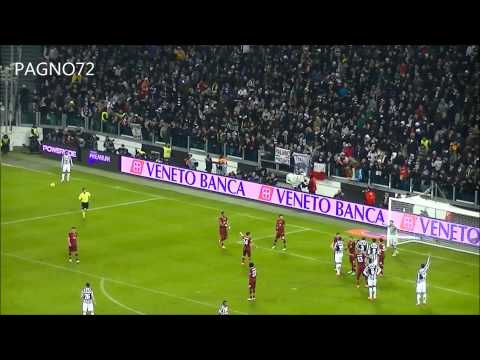 JUVENTUS Vs Roma Penalty Vucinic 3-0