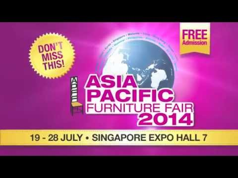 Asia Pacific Furniture Fair 2014 at Singapore Expo Hall 7