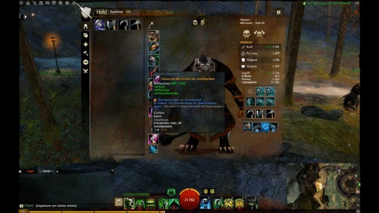Build Necromant Guild Wars  Pve