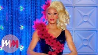 Top 10 Gag-Worthy Outfits worn by RuPaul on RuPaul's Drag Race