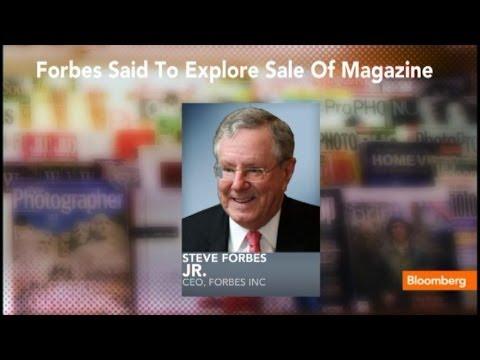 Forbes Media Exploring Sale of Namesake Publication