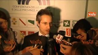 CALDORO PRES CAMPANIA RENZI NON TAGLI SERVIZI CITTADINI 22-10-14