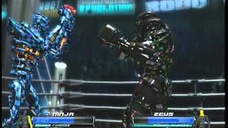 Real Steel Ninja Vs Zeus