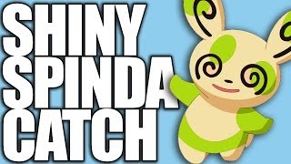 LIVE!!! Shiny Spinda Catch In Pokemon X And Y (Critical