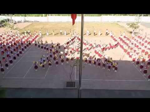 Em yêu tổ quốc Việt Nam - Múa dân vũ - Trường THCS Huỳnh Thúc Kháng