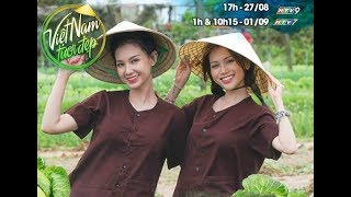 Việt Nam tươi đẹp VNTD | HTV | Sĩ Thanh - Quỳnh Chi hóa thôn nữ xinh đẹp ở làng rau Trà Quế - Hội An