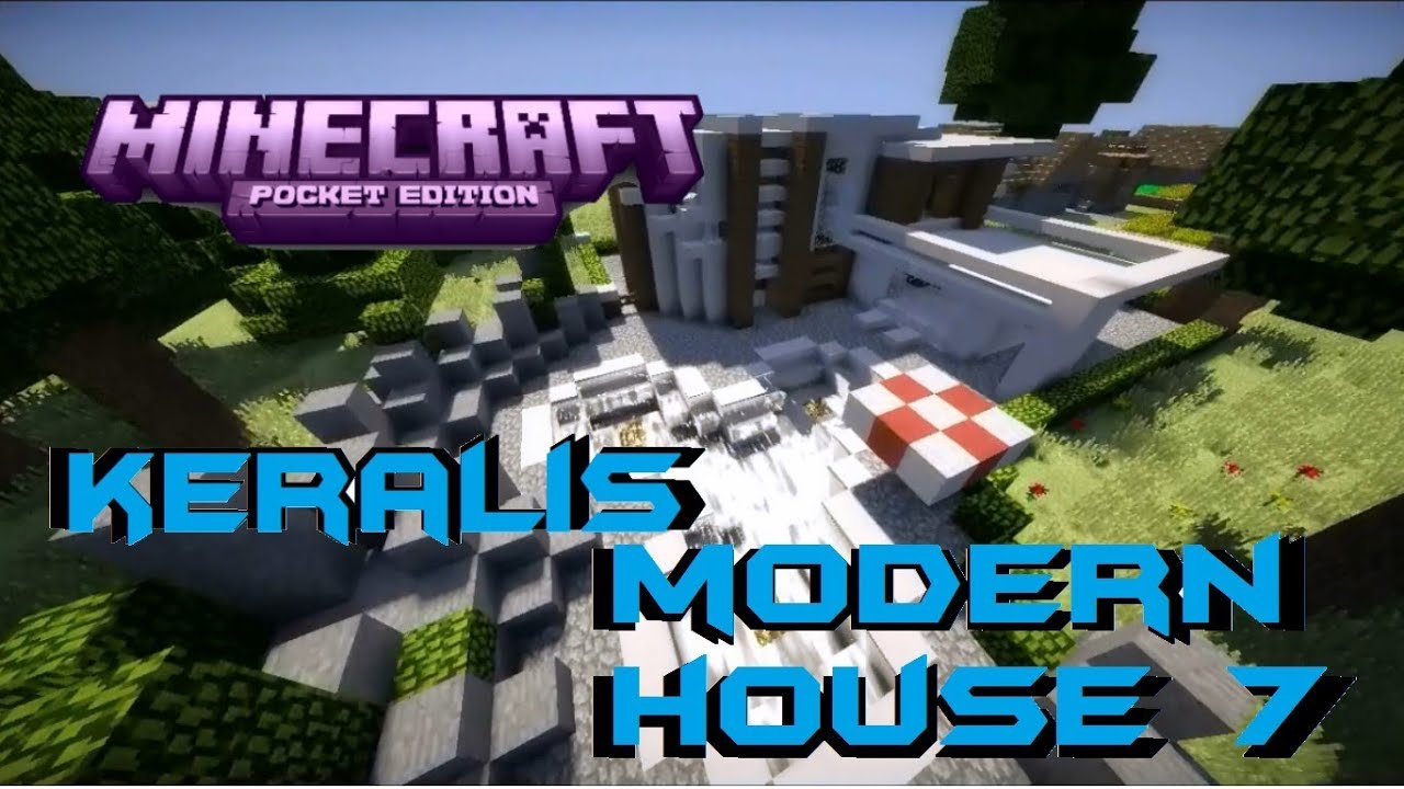 minecraft how to build a modern house keralis