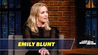 Emily Blunt Reveals Who Told Her She Has a Resting Bitch Face