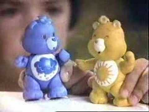 Care Bears figures Funshine Grumpy