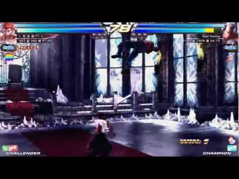Tekken Tag 2 Unlimited Knee (Jin/Hwoarang/Feng) vs Soul Hunter (Bryan/Law)