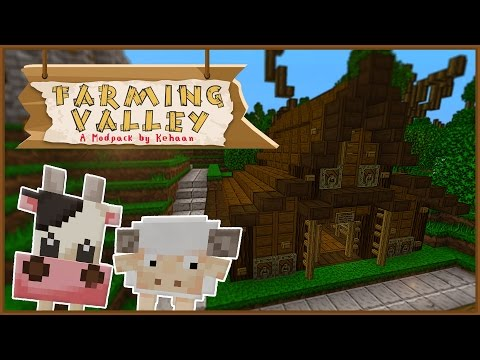 Minecraft Farming Valley - New Animals & Animal Ranch! #4 [Mini Series]